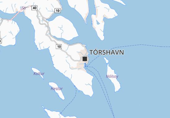 Mapa Plano Tórshavn