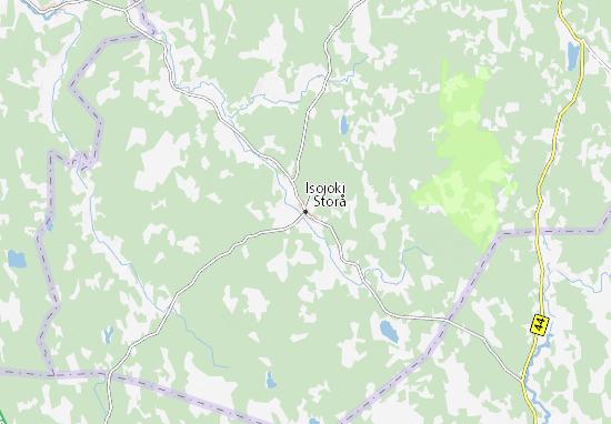 Mapa Plano Isojoki