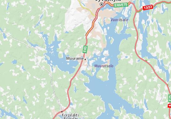 Mapa Muurame