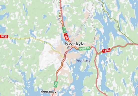 Mapas-Planos Jyväskylä