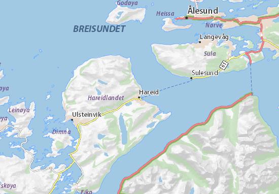 Hareid Map
