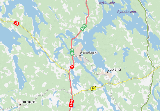 Carte-Plan Äänekoski