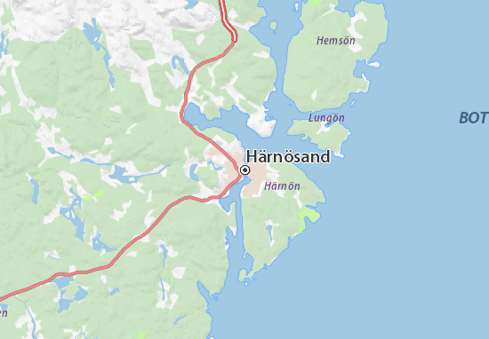 Mapas-Planos Härnösand