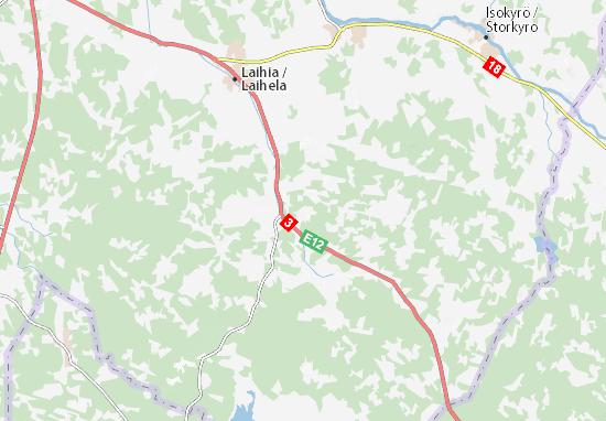 Mapa Plano Kyläinpää
