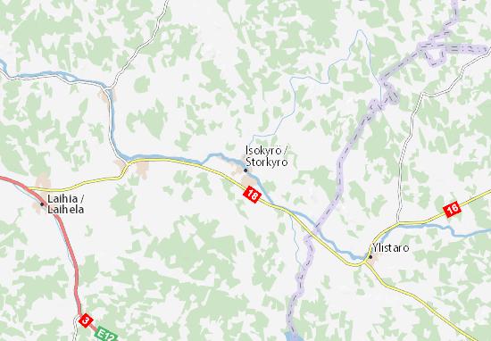 Mapa Plano Isokyrö
