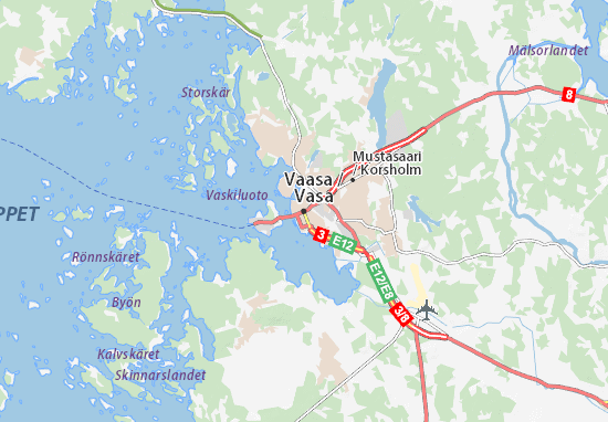 Vaasa Maps