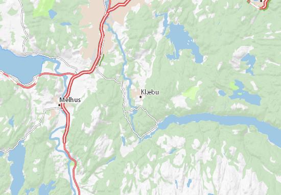 Mappe-Piantine Klæbu