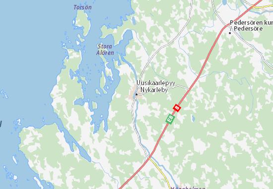 Uusikaarlepyy Map
