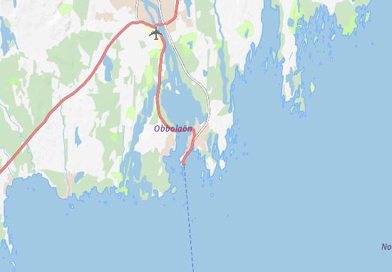 Mapa Plano Holmsund