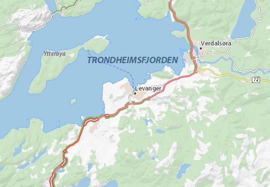 Levanger Map