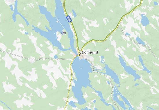 Strömsund Map