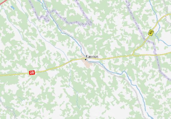 Carte-Plan Kannus