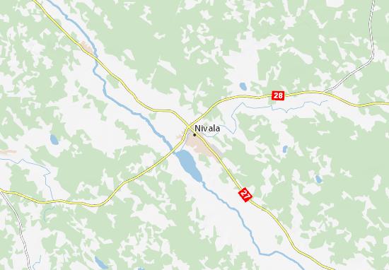 Carte-Plan Nivala