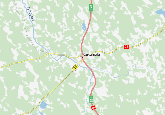 Mapa Plano Kärsämäki