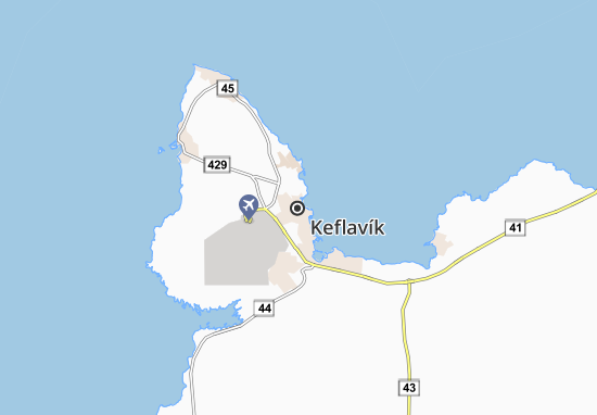 Keflavík Map