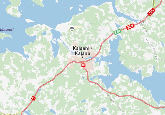 Mapa Plano Kajaani