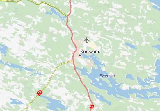 Mappe-Piantine Kuusamo