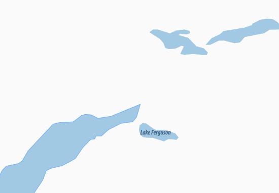 Kaart Plattegrond Kangerlussuaq