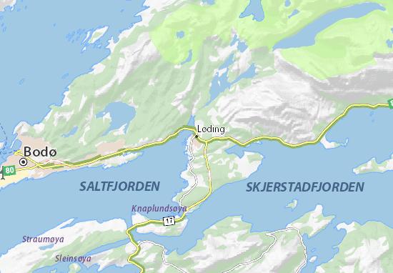 Mapa Plano Løding