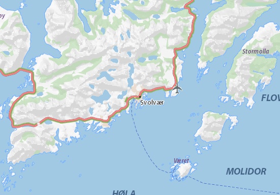 Mapas-Planos Svolvær