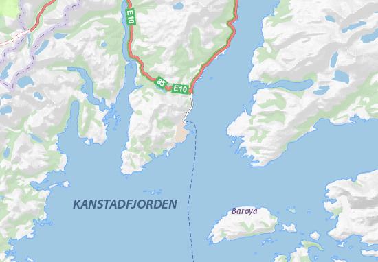 Mapa Plano Lødingen