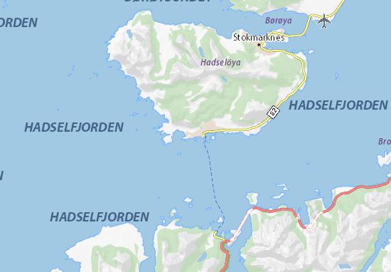 Mapa Plano Melbu