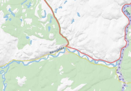 Karasjok Map