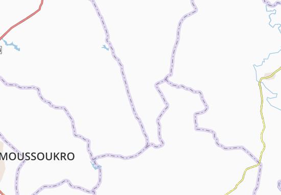 Carte-Plan Mangouakro