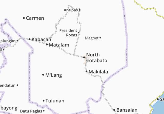 Mappe-Piantine North Cotabato