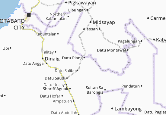 Mappe-Piantine Datu Piang