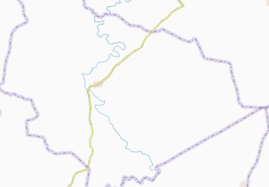 Carte-Plan Kolien-Nzikro