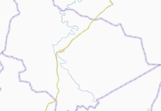 Carte-Plan Daouakro