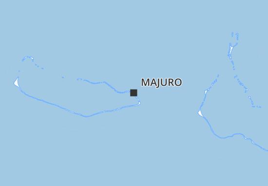 Mapa Plano Majuro