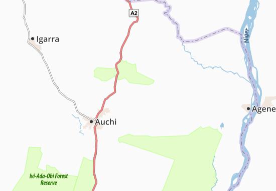 Carte-Plan Afana