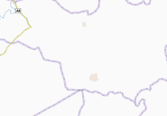 Carte-Plan Koutoukounou