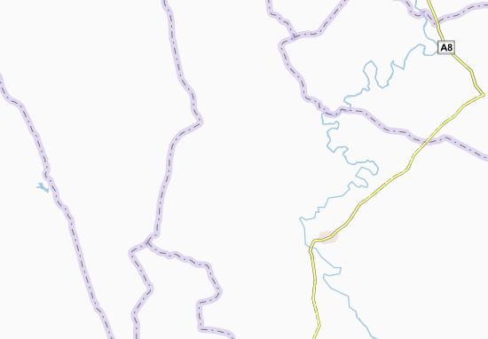Carte-Plan Sassaokro