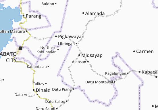 Mappe-Piantine Midsayap