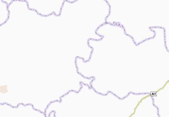 Carte-Plan Komoé-Noua