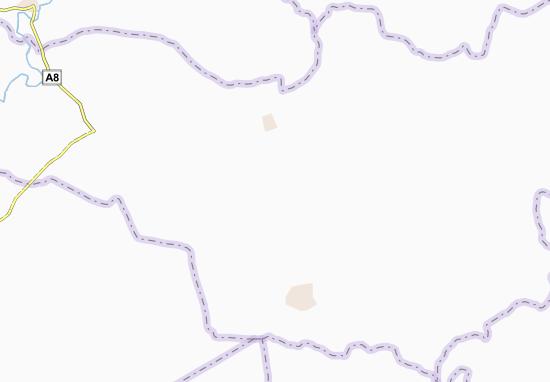 Carte-Plan Daoulébo