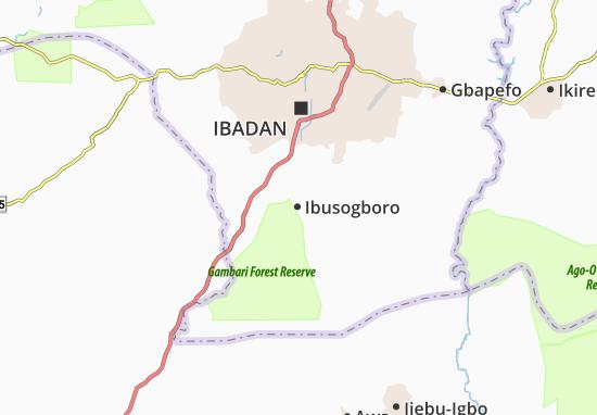 Carte-Plan Ibusogboro