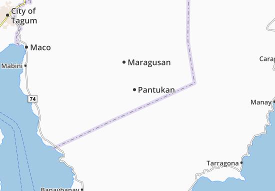 Mapa Plano Pantukan