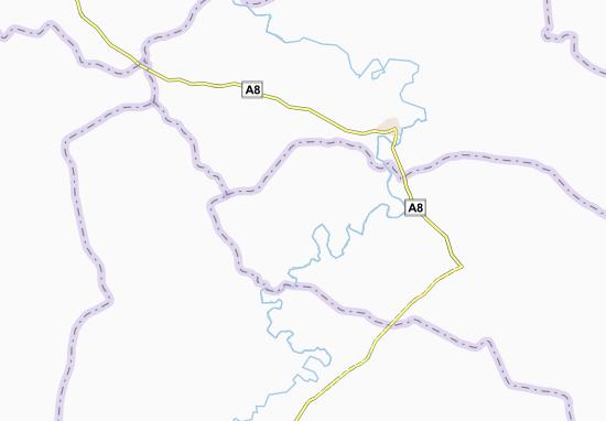 Carte-Plan Kouakoubakro