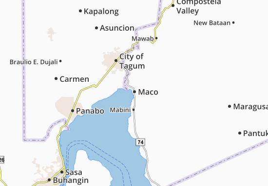 Mappe-Piantine Maco