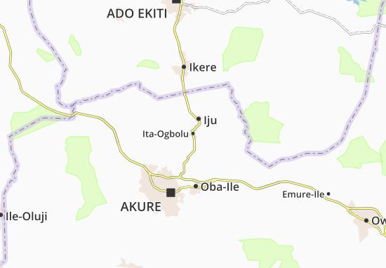Carte-Plan Ita-Ogbolu