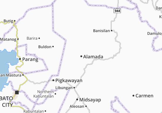Mappe-Piantine Alamada