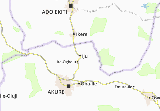 Carte-Plan Iju