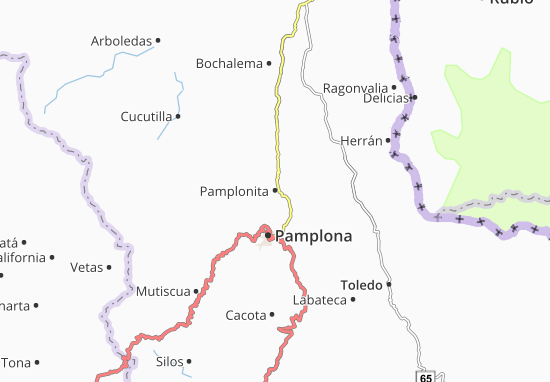 Carte-Plan Pamplonita