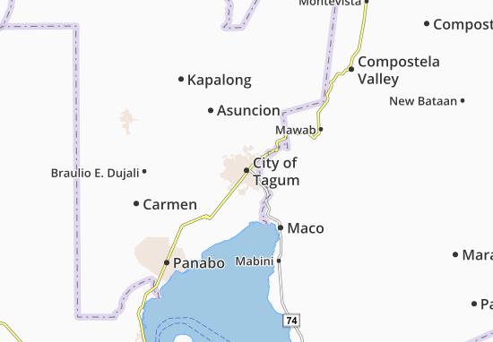 Mappe-Piantine City of Tagum