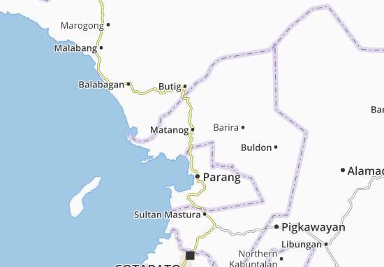 Mappe-Piantine Matanog