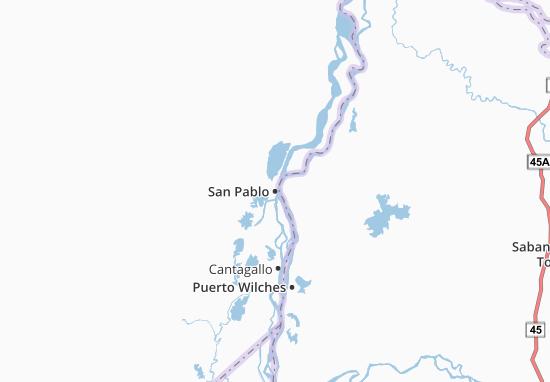 Carte-Plan San Pablo